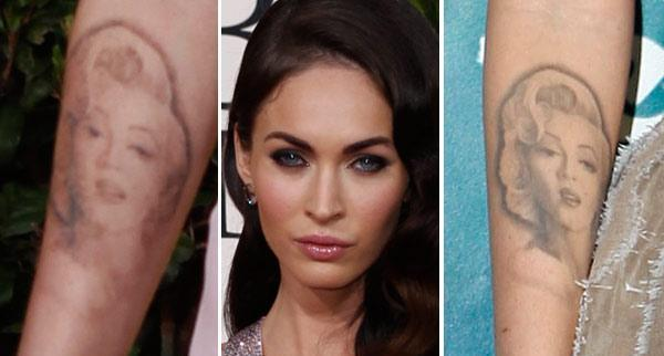 Megan Fox's tatttoo