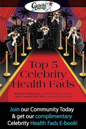 Join our Community Today & get our complimentary Celebrity Health Fads E-book!